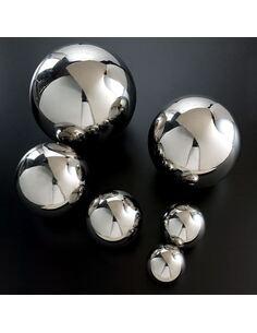 Boule 12x12x12 Métal Chrome