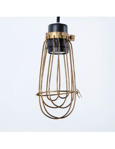 Lampe d'architecte 10x10x25 Métal Doré