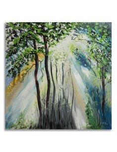 Tableau Green Trees