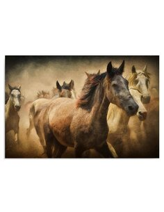 Tableau Tabun Horses