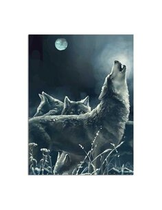 Tableau The Pack Of Wolves