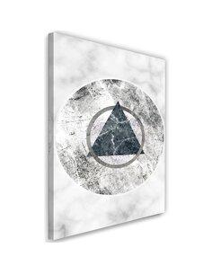 Tableau Geometric Figures Marble