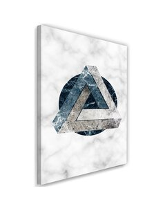 Tableau Geometric Abstraction - Marble