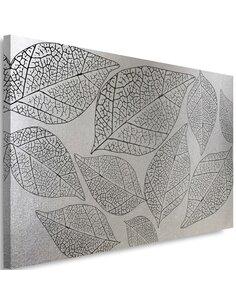 Tableau Leaves Plant Silver Glamor