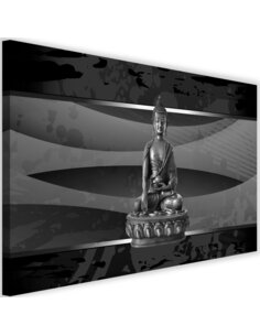 Tableau Buddha On Abstract Background 4