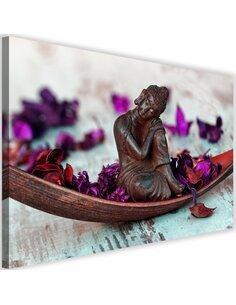 Tableau Buddha And Flakes 1