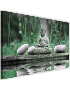 Tableau Buddha On The Water 2