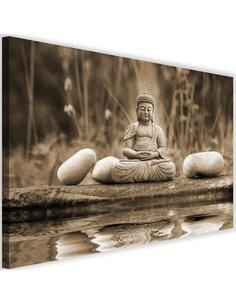 Tableau Buddha Over Water 4