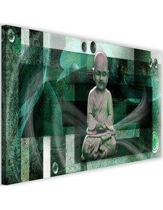 Tableau Buddha With Geometric Figures 1