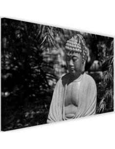 Tableau Buddha Between The Trees 3