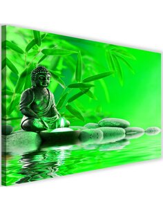 Tableau Buddha The Water On The Stones 2