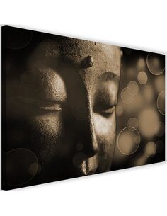 Tableau Face Of Buddha Wheel