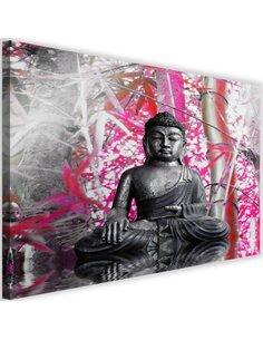 Tableau Buddha And Bamboo