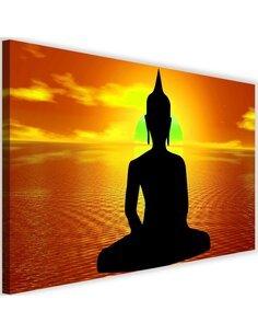 Tableau Buddha Meditation