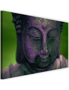 Tableau Purple Buddha Head