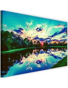 Tableau Sunrise Over The Lake 3