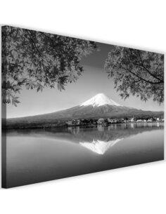 Tableau Mount Fuji And Lake 2