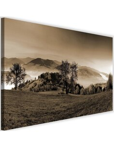 Tableau The Hills Of Autumn Trees 1