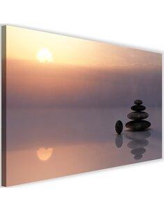 Tableau Zen Stones By The Sea