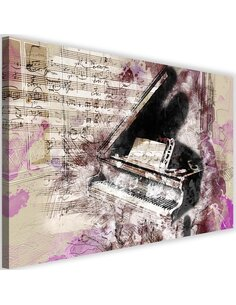 Tableau Piano Abstraction