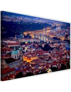 Tableau Prague At Dusk