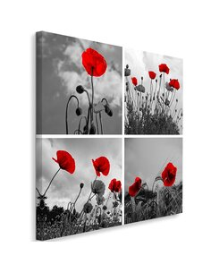 Tableau Red Poppies