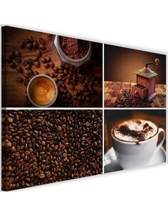 Tableau Coffee Beans And Coffee Grinder
