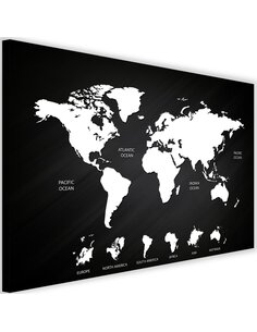 Tableau Map Of The World And Continents