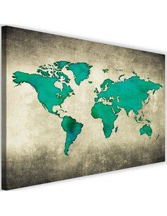 Tableau Green Map Of The World