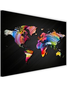 Tableau World Map With Different Colors