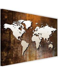 Tableau World Map On Wood