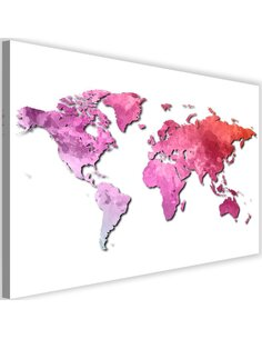 Tableau Pink World Map