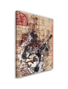 Tableau Abstract Musician