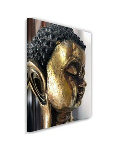 Tableau The Face Of The Golden Buddha