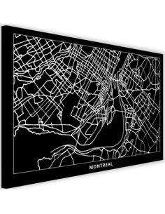 Tableau Plan Of Montreal