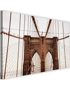 Tableau Brooklyn Bridge In New York City