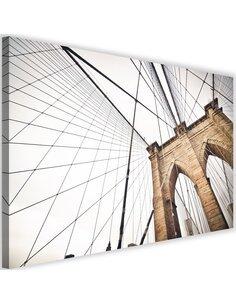 Tableau The Design Of The Brooklyn Bridge