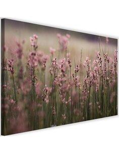 Tableau Pink Flower Field
