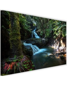 Tableau Waterfall In The Tropics