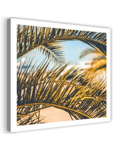 Tableau Palm Leaves