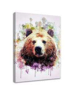 Tableau Bear Head