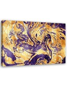 Tableau Purple Composition