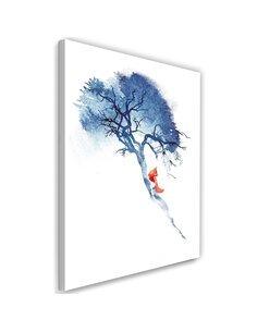 Tableau Fox On The Tree