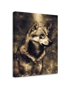 Tableau Young Wolf