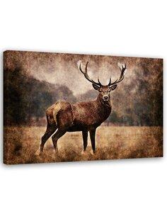 Tableau Deer In The Meadow