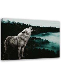 Tableau Howling Wolf