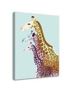 Tableau Giraffes