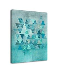 Tableau Triangles Pattern