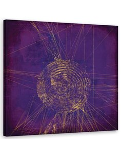 Tableau Abstract, Violet 3