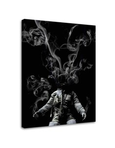 Tableau Space Suit And Smoke